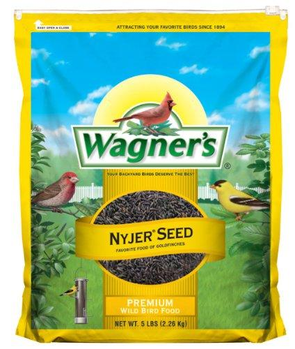 --Wagner's 62051 Nyjer Seed Bird Food, 5-Pound Bag--