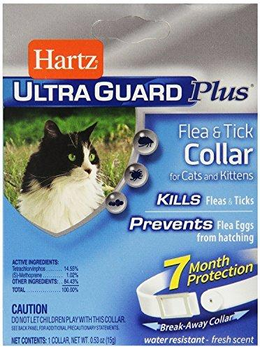 UltraGuard Plus Flea And Tick Kitten And Cat Collar