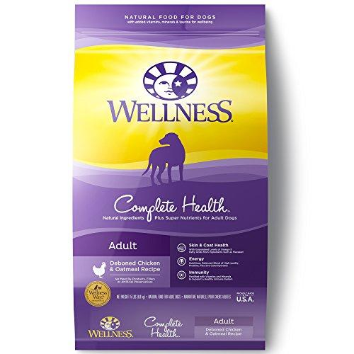 --Wellness Complete Health Natural Dry Dog Food, Chicken & Oatmeal, 15-Pound Bag--
