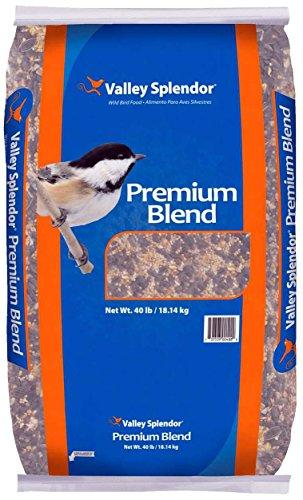 --Valley Splendor Premium Blend Bird Seed, 40 lbs--