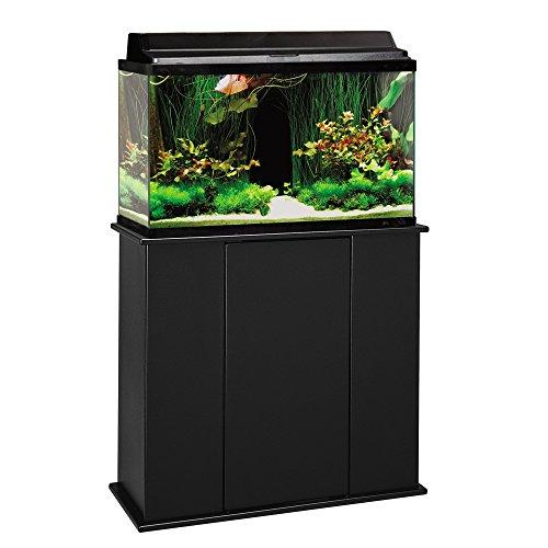 Aquatic Fundamentals Black Upright Aquarium Stand - for 29 and 37 Gallon Aquariums