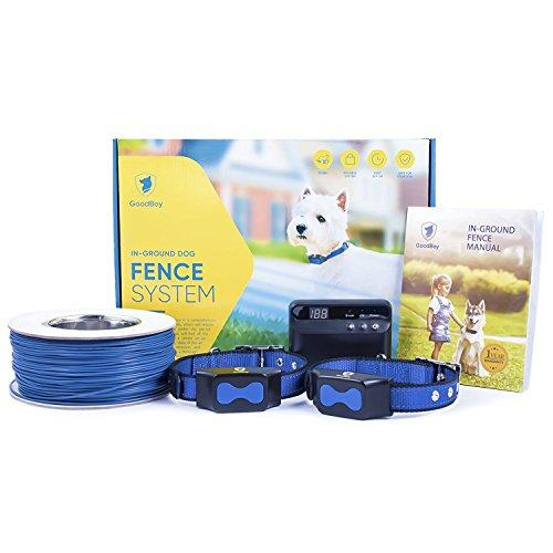 Electric Dog Fence by GoodBoy - Invisible Perimeter Fence Prevents Pets Escaping - Underground System Is Easy to Set Up & Maintenance Free -Suitable for Dogs Big or Medium -Superb Follow-Up Support