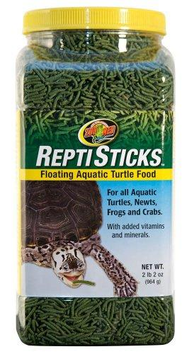 Zoo Med ReptiSticks Floating Aquatic Turtle Food, 2.2 lbs