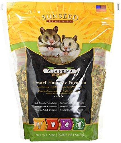 --SUNSEED COMPANY 36070 1 Piece Vita Prime Dwarf Hamster Formula Food Treat, 2 lb--