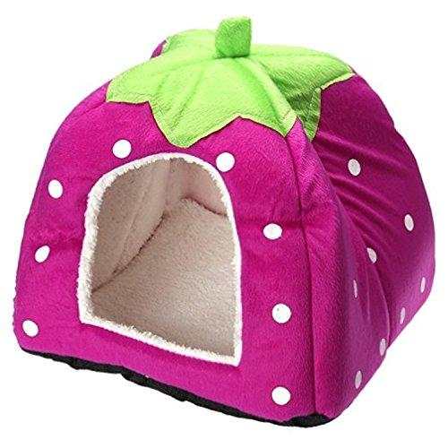 Century Star Cute Soft Small Animal Pet Winter Warm Squirrel Hedgehog Chinchilla House Cage Purple XS