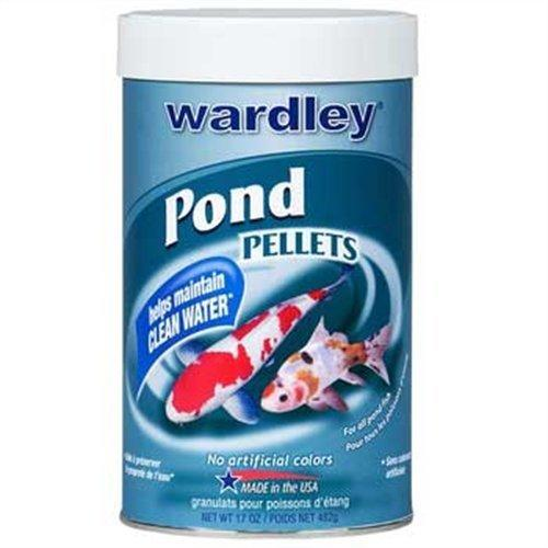 Wardley TEN (Total Essential Nutrition) - Pond Pellets for all pondfish - 17 oz by HARTZ