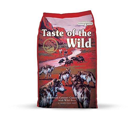 --Taste of the Wild Southwest Canyon Grain Free Protein Real Meat Recipe Natural Dry Dog Food with Real Wild Boar 5lb--