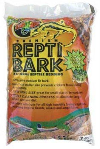 Zoo Med Laboratories SZMRB1 Reptile Bark Terrarium Bedding, 1-Quart by Zoo Med