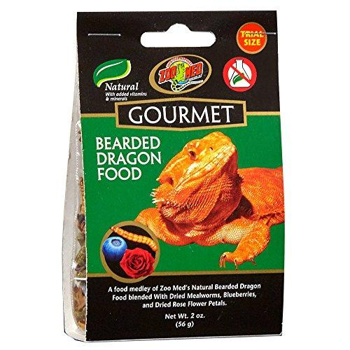 Zoo Med Gourmet Bearded Dragon Food, 2 oz