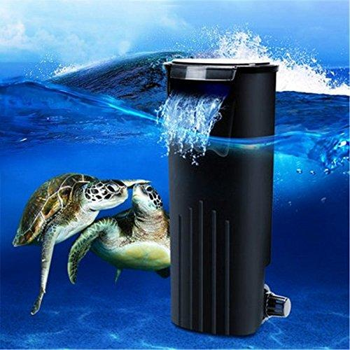 Bazaar Low Water Fresh Internal Hang On Aquarium Fish Turtle Reptile Tank Power Filter