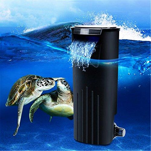 BangBang Low Water Fresh Internal Hang On Aquarium Fish Turtle Reptile Tank Power Filter