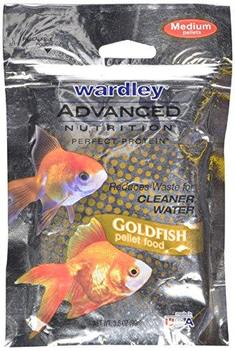 Wardley Advanced Nutrition Perfect Protein Medium Goldfish Food Pellets - 3.5oz