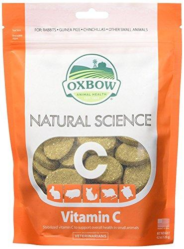 New Oxbow Natural Science 60ct Vitamin C Supplement Little Animal Gerbil Hamster