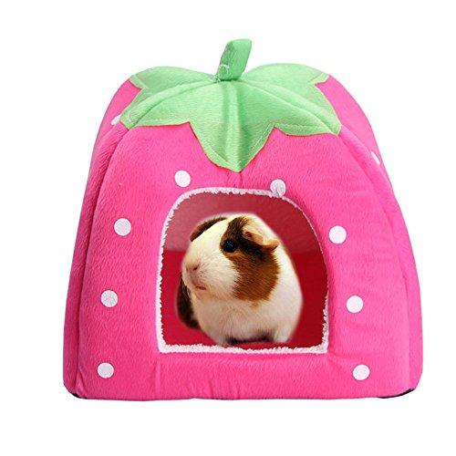 Rabbit Guinea Pig Hamster House Bed Cute Small Animal Pet Winter Warm Squirrel Hedgehog Chinchilla House Cage Nest Hamster Accessories (9