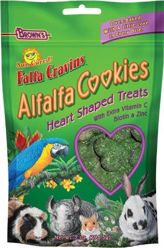 F.M. Brown's Falfa Cravins Heart-Shaped Alfalfa Cookies, 7-Ounce