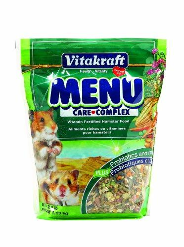 --Vitakraft Menu Vitamin Fortified Hamster Food, 2.5 lb.--