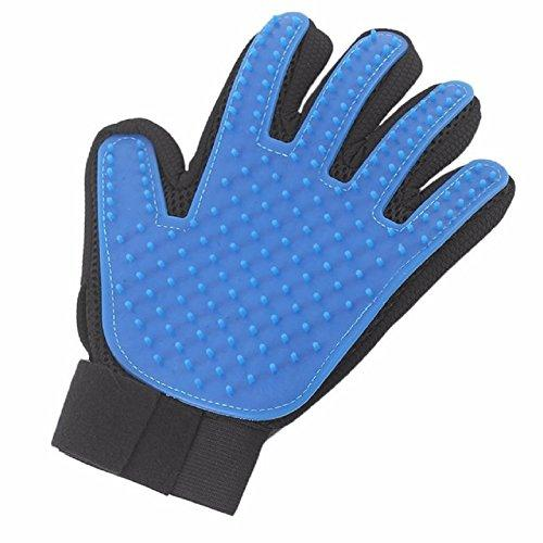 ฺBrush Pet Hair Remover Massage Grooming Gloves Comfortable Clean Brush Left Hand Gloves