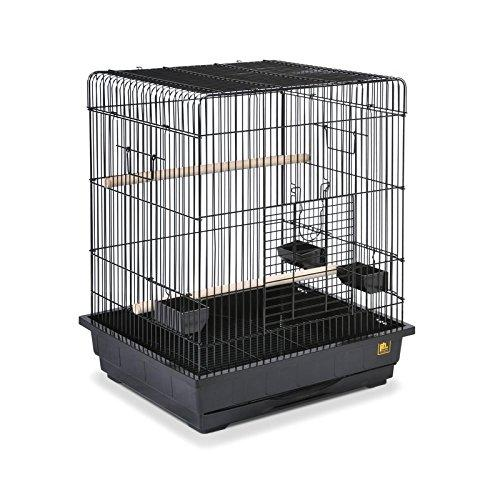 Square Roof Parrot Cage Bird Parrot Pet Large Finch Play Cockatiel Top Stand House