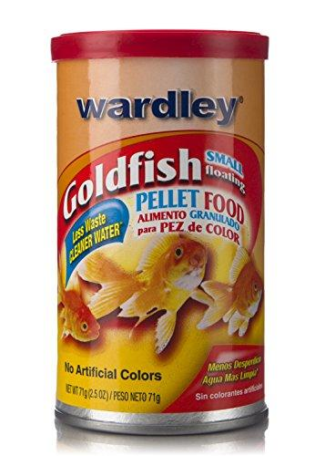 Wardley Small Floating Goldfish Food Pellets - 2.5oz