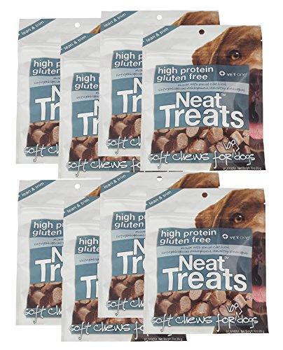 Vet One 840235138259 8-10 oz Resealable Neat Treats Soft Chews for Big Dogs