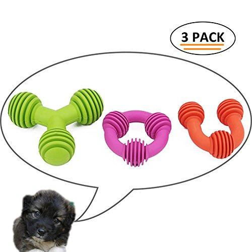 ThinkPet Rubber Dental Teething Toy Healthy Teeth Chew Toy for Dogs,Variety of shapes