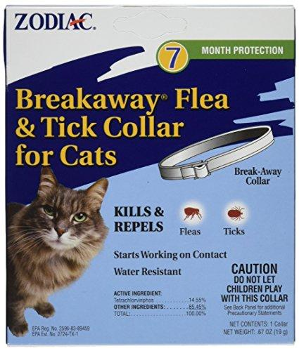 Zodiac Breakaway Flea and Tick Collar for Cats, 13