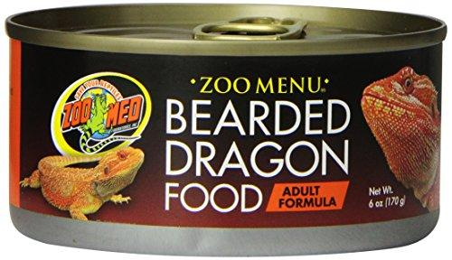 Zoo Med Bearded Dragon Adult Wet Food, 6-Ounce