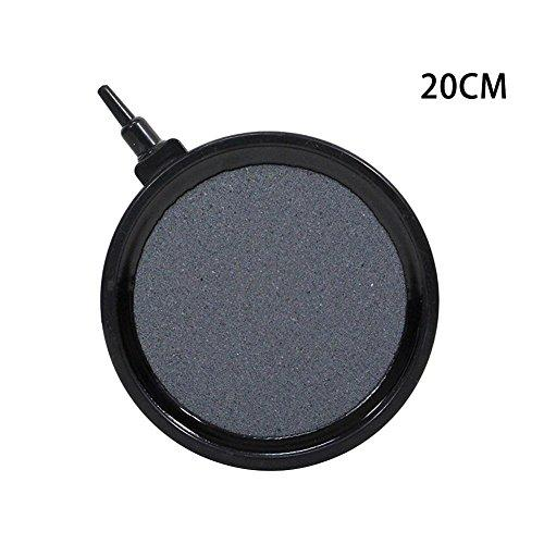 Zeroyoyo Aquarium Supplies Bubble Disk Air Stone Aerator For Aquarium Fish Tank Pond Pump Oxygen Disk (D)