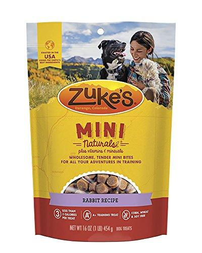 Zuke's Mini Naturals Rabbit Recipe Dog Treats - 16 oz. Pouch