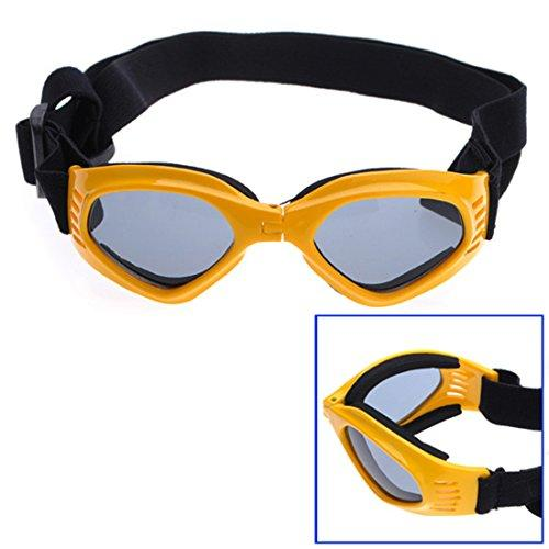 Corner Biz Pet Pet Dogs UV Sun Glasse Eye wear Protection Sunglasse Color Yellow