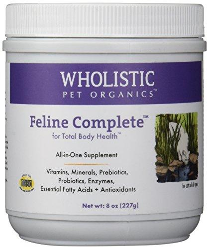 Wholistic Pet Organics Feline Complete Multivitamin, 8 oz