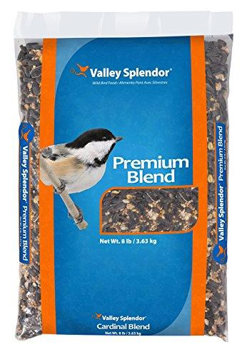 Valley Splendor Premium Blend Bird Seed, 8 lbs