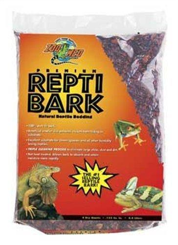 Zoo Med Reptile Bark Fir Bedding, 4 Quarts by Zoo Med