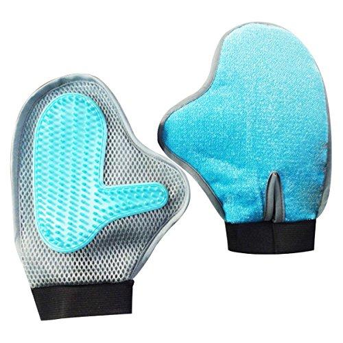 Way-Seven Pet Grooming Glove For Hair Remover & Massage ¡­