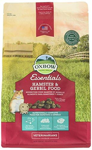 --Oxbow Animal Health Hamster and Gerbil Fortified Food, 1-Pound--