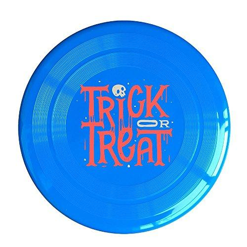 Trick Or Treat Plastic Dog Traning Soft Chewy Flying Discs