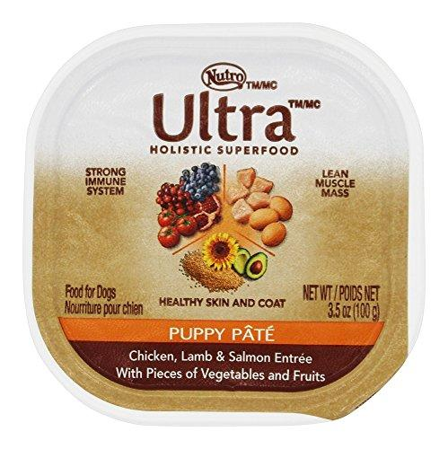 Nutro - Ultra Wet Puppy Pate Food Chicken, Lamb & Salmon Entree - 3.5 oz.