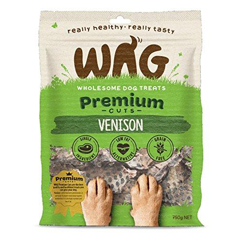 WAG Venison Jerky, 26-oz. (750g) Grain Free Hypoallergenic Natural New Zealand Made Dog Treat Chew, Healthy Alternative Perfect for all Sizes & Breeds - Quality Beats Junk