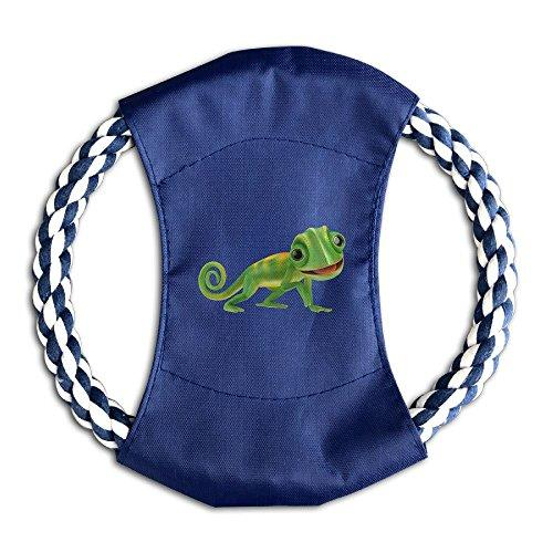 Oopp Jfhg Ring Flying Toysfrisbee For Dog Green Lizard Chameleon
