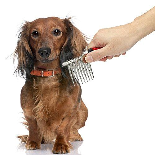 【Clearance sales】Pet Grooming Glove Brush - Deshedding & Massaging Tool - Hair & Fur Remover Mitt For Long & Short Hair Pets like Dog Cat Horse - Safe & Gentle - Easy Home Furniture Cleaning