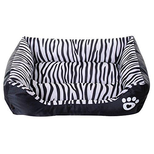 ZHWKY Indoor Pet Square Nest Non-slip Waterproof Pet Cat Bed House Winter Warm Soft Pet Nest Mat Small Animal Houses Habitats