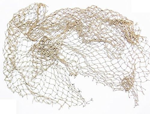 Reptile Netting - Fish Net Decoration For Terrariums and Reptile Habitats (22 inches x 22 inches)