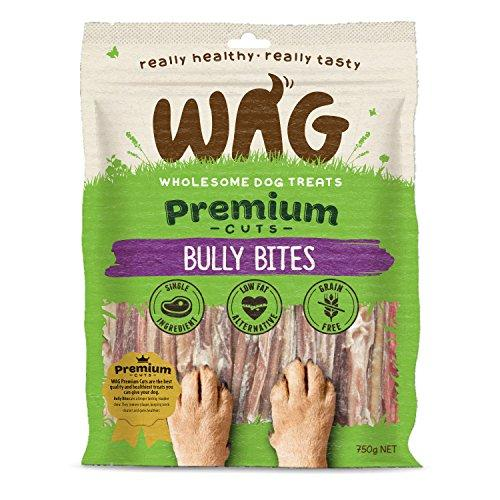 WAG Bully Bites, 26-oz. (750g) Grain Free Hypoallergenic Natural Dog Treat Chew, Healthy Alternative Perfect for all Sizes & Breeds - Quality Beats Junk