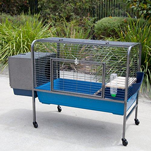 Flyline Rabbit Guinea Pig Cage on Wheels large