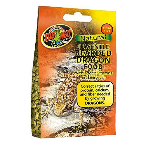 Zoo Med Gourmet Juvenile Bearded Dragon Food, 1.6 oz.