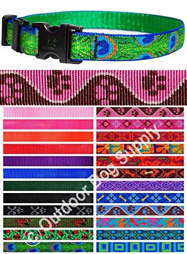 --Lupine Pet Collar Replacement Dog Strap 3/4