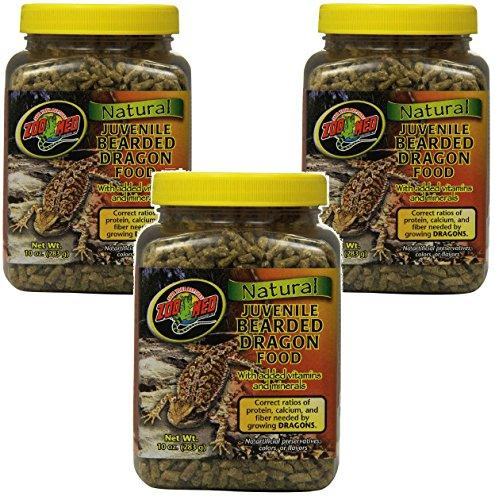 Zoo Med Bearded Dragon Food 10oz (3 Pack)