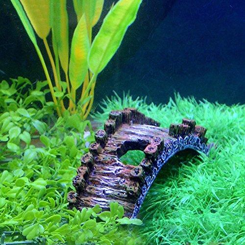 Saim Aquarium Resin Arch Bridge Ornament Fish Tank Decoration