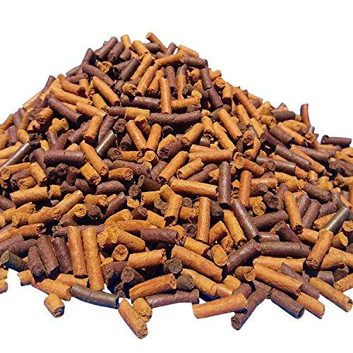 S&B Earthworm & Blackworm Sticks, Great for Carnivores, Bottom Fish, Turtles…1-lb