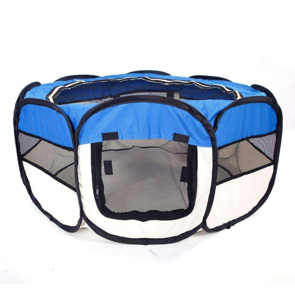 36'' Portable 2-Door Pet Playpen Indoors Outdoors Foldable Puppy Dog Cat Kitten Pop-up Water-Resistant Exercise Pet Fence Pet Cage,,KeeboVet Veterinary Ultrasound Equipment,KeeboVet Veterinary Ultrasound Equipment.